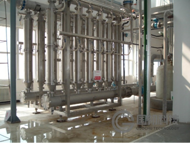 Ceramic membrane equipment